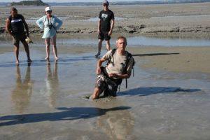 Didier LAVADOUX guide de la baie du Mont Saint Michel sables mouvants