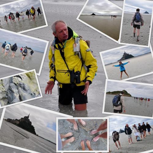 le guide de la traversée baie mont saint michel souvenirs