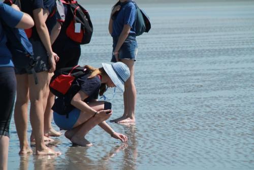 souvenir traversée de la baie avec lycée  afrique